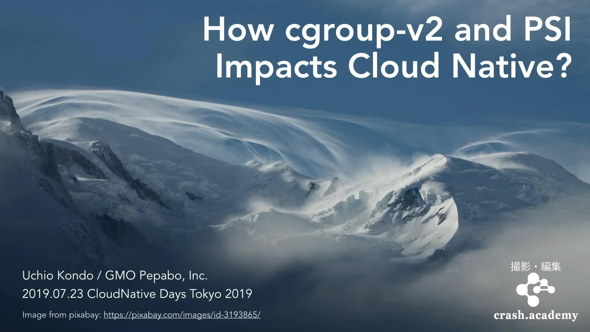 How cgroup-v2 and PSI impacts CloudNative?