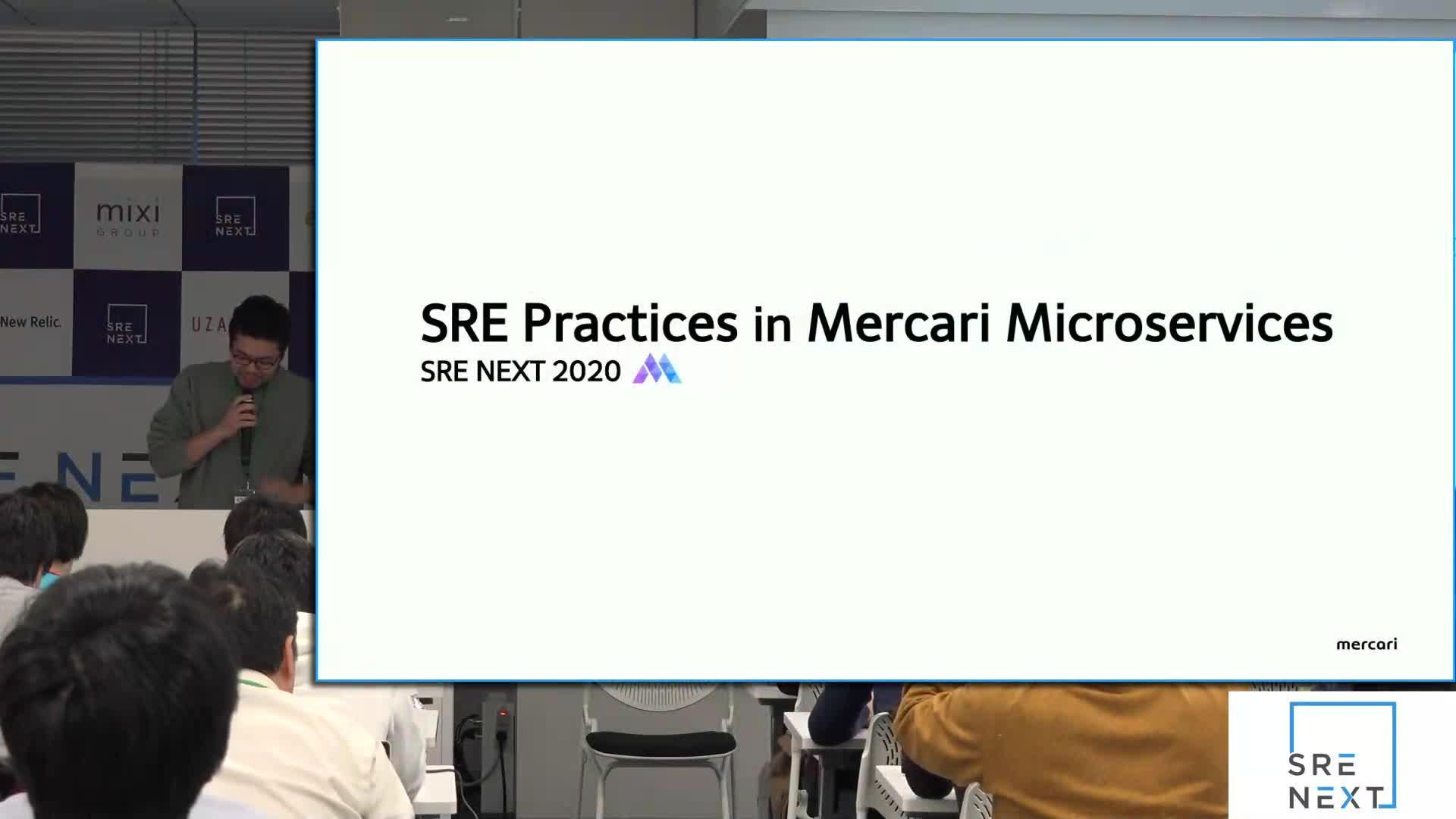 SRE Practices in Mercari Microservices