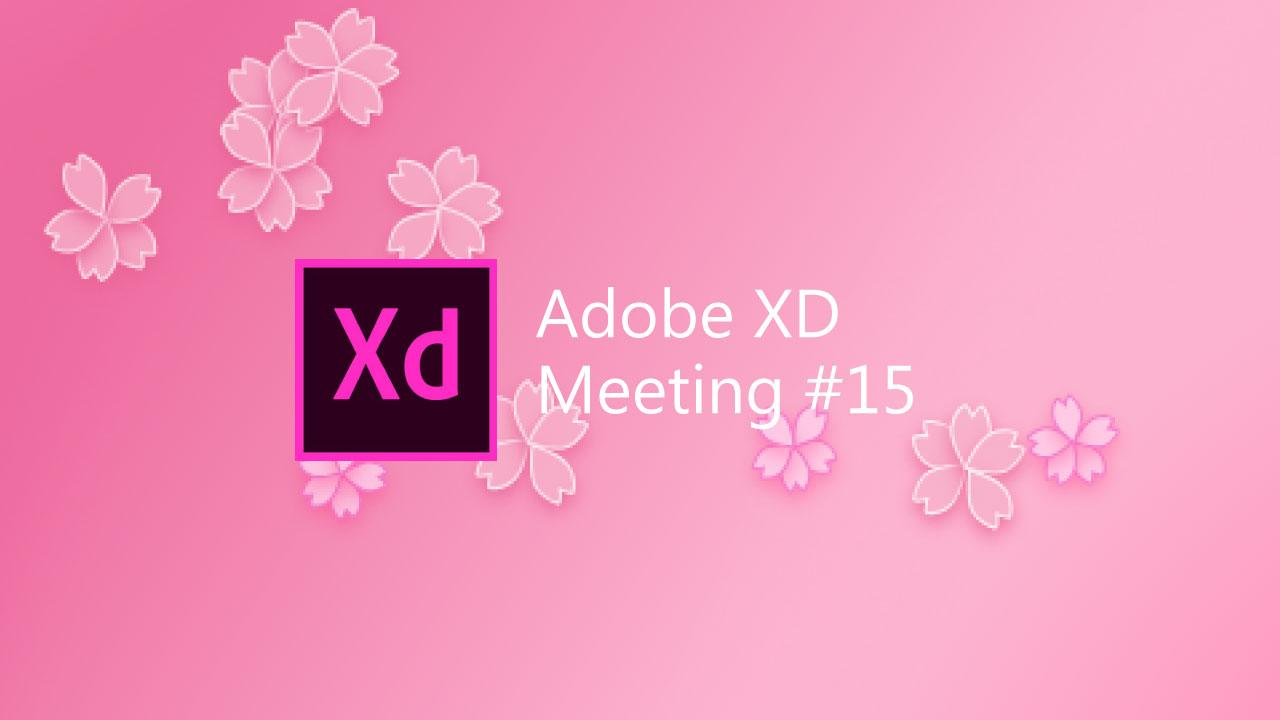 Adobe XD meeting #15