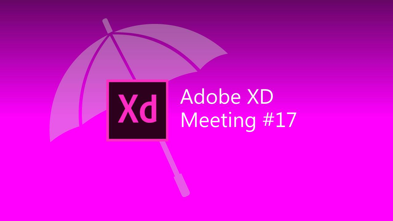 Adobe XD meeting #17