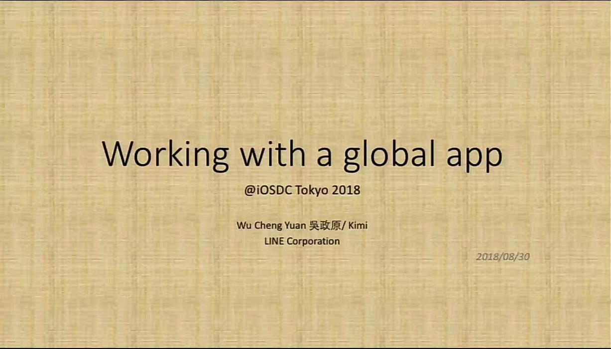 Working in a multi-cultural environment with a global app