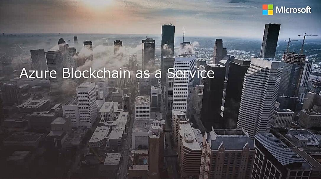 Azure Blockchain as a Service