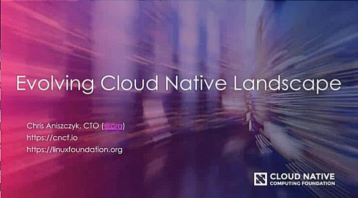 Evolving Cloud Native Landscape