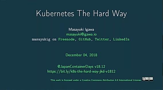 Kubernetes The Hard Way