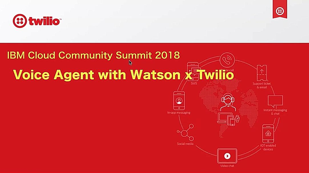 VoiceAgent with Watson x Twilio