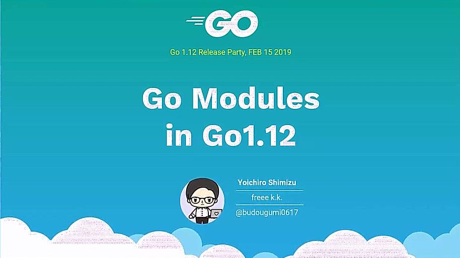 Go Modules in 2019