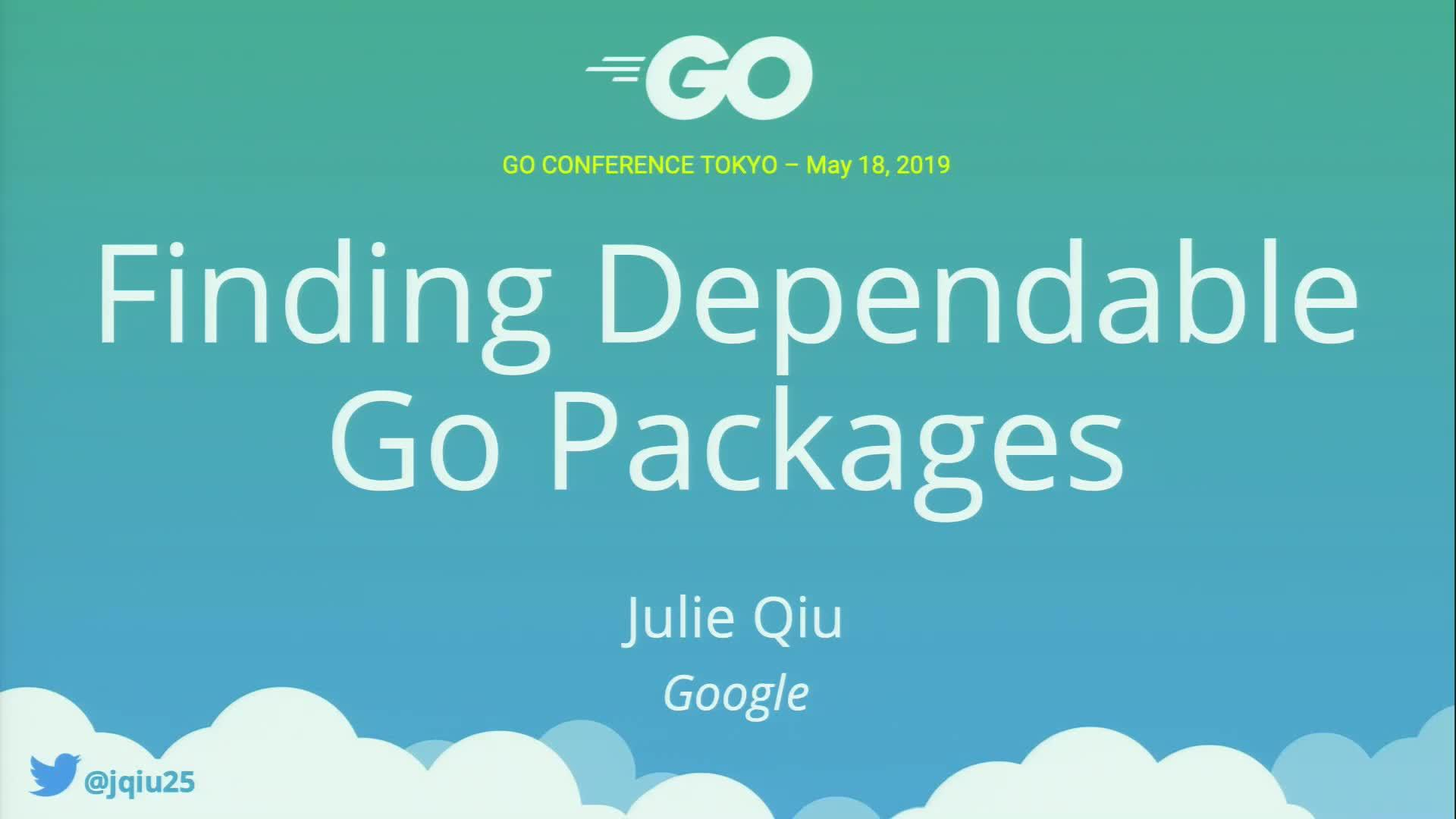 Finding Dependable Go Packages