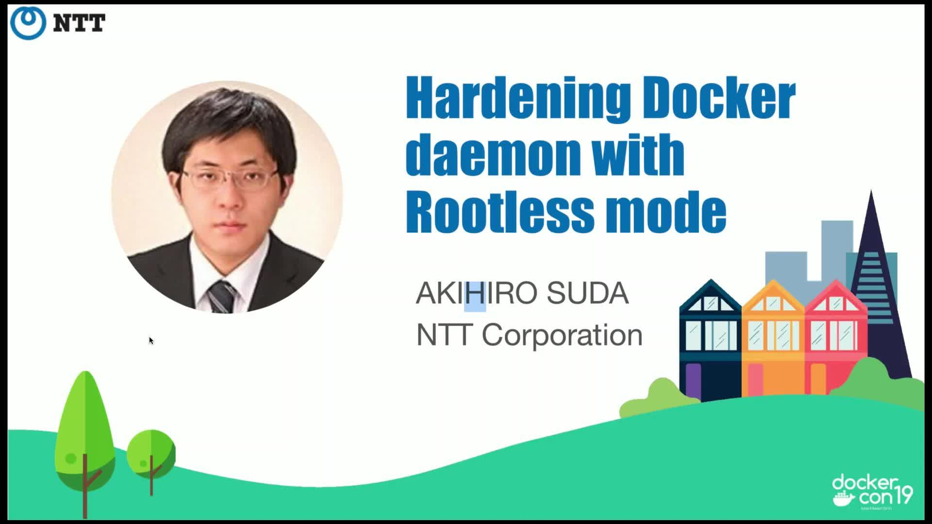 Hardening Docker daemon with Rootless mode