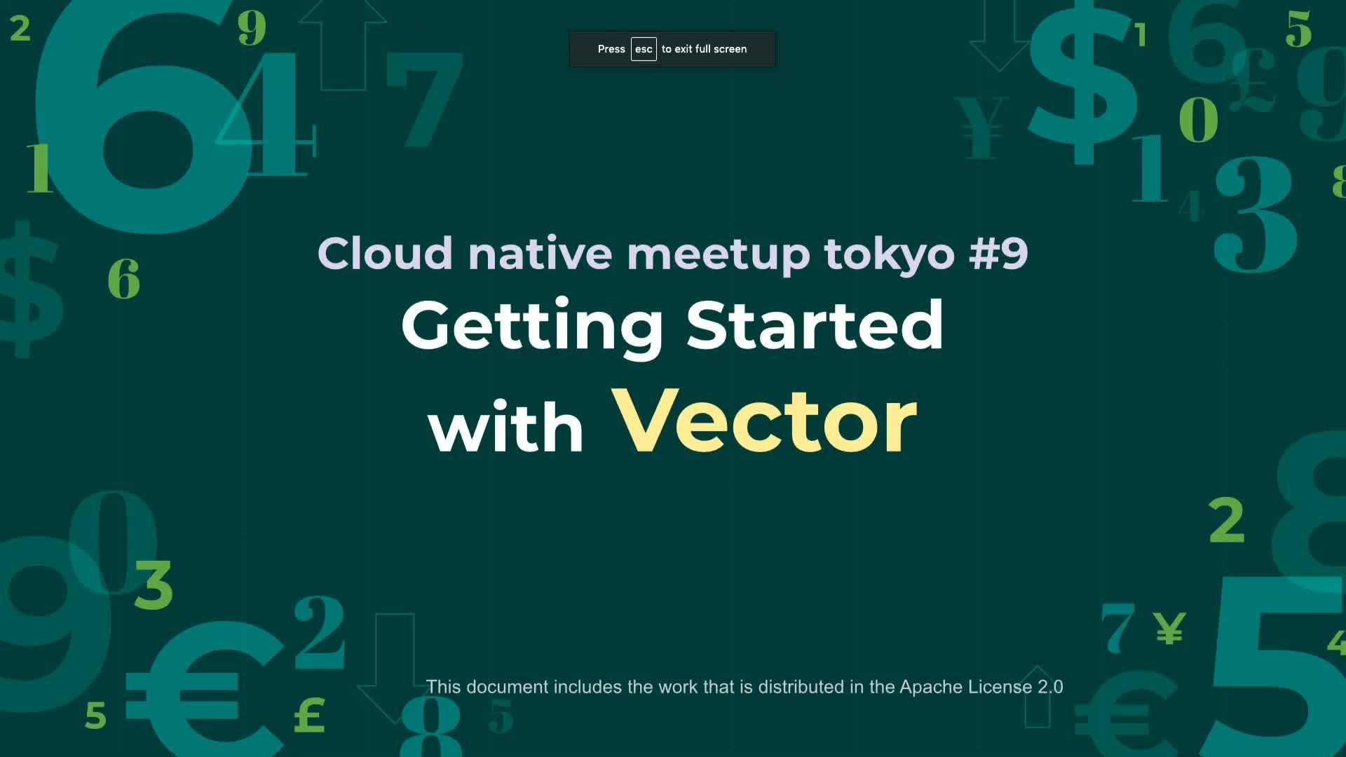 Getting Started with Vector